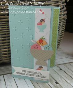 Cool Treats Sundae! by Carol Payne - Cards and Paper Crafts at Splitcoaststampers