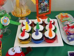 Atencion Atencion cupcakes idea