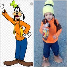 Goofy costume diy