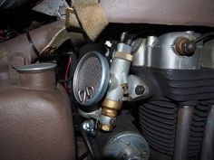 Original NOS Amal with mesh inlet filter Mechanical Art, Ariel, Cars And Motorcycles, Filter, Engineering, Mesh, Motors, Technology, Philtrum