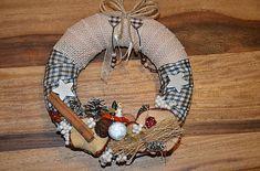 monika1651 / Venček Burlap Wreath, Wreaths, Fall, Home Decor, Autumn, Decoration Home, Door Wreaths, Fall Season, Room Decor