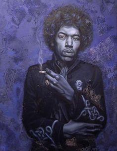 Jimmy Hendrex - artists Weldon Ryan :BLACK ART IN AMERICA