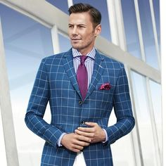 T-Jordon' | Regular Fit Italian Mohair-Virgin Wool Tailored Sport
