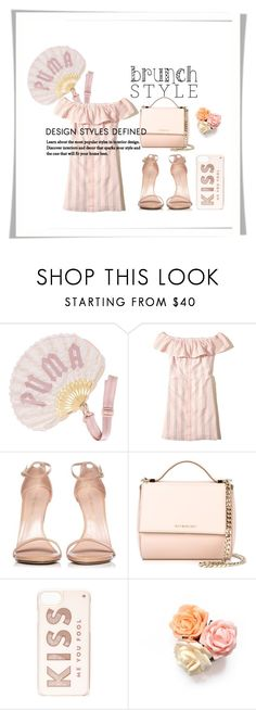 """""""Мама"""" by lorena-l on Polyvore featuring мода, Puma, Hollister Co., Stuart Weitzman, Givenchy, Kate Spade и brunchgoals"""