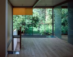 interior of House for a musician in London (1998-2001) / by Chris Blencowe + Judith Levine