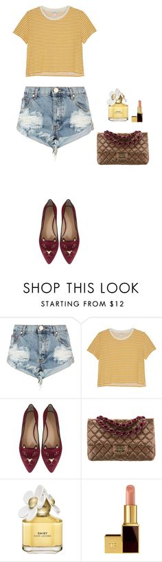 """""""CASUAL look. Spring Look"""" by vboiko on Polyvore featuring мода, One Teaspoon, Monki, Charlotte Olympia, Chanel, Marc Jacobs, Tom Ford, casual и lanchoutfit"""