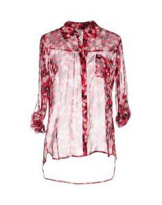 DIANE VON FURSTENBERG Women's Shirt Fuchsia 4 US
