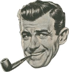 Kaywoodie Pipes, the quintessential 50s man