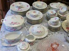 Bavaria Fine Porcelain Dish Set Dish Sets, Fine Porcelain, Bavaria, Picture Frames, Decorative Plates, Victorian, Home Decor, Portrait Frames, Homemade Home Decor