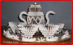 Модульное оригами - Чайный сервиз-5