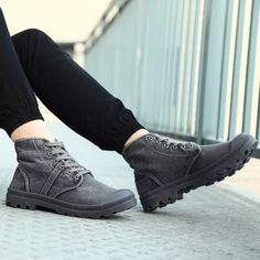 Plain Lace-Up Front Round Toe Platform Canvas Boots Brogue Chelsea Boots, Leather Chukka Boots, Leather Chelsea Boots, Slip On Boots, Dress With Boots, Ankle Boots Men, Men's Boots, Mens Short Boots, Alligator Boots