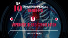 Top 10 Kapalbhati Pranayama Benefits on Improves Blood Circulation Pranayama Benefits, Remedies For Glowing Skin, Relaxation Response, Improve Blood Circulation, How To Increase Energy, Stress And Anxiety, Health, Top, Health Care
