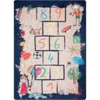 Grisel Hopscotch Playtime Multi 5 ft. x 7 ft. 5 in. Area Rug