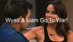 """""""The Bold and The Beautiful"""" (B&B) spoilers reveal that a Spencer civil war is about to erupt between Wyatt Spencer (Darin Brooks) and Liam Spencer..."""