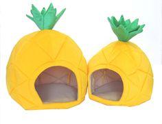 pineapple pet beds