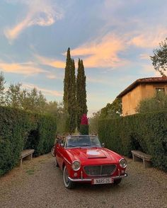 Pretty Cars, Cute Cars, Retro Aesthetic, Travel Aesthetic, Studio Decor, Classy Cars, Northern Italy, Jolie Photo, Car Pictures