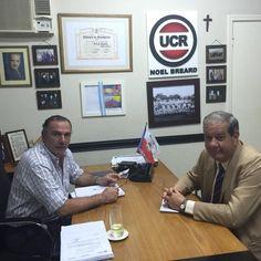De visita el Comisario General RE Aurelio Fernandez , ex aero club 250 viviendas referente social