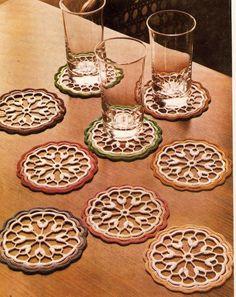 BethSteiner: Porta copos em crochê