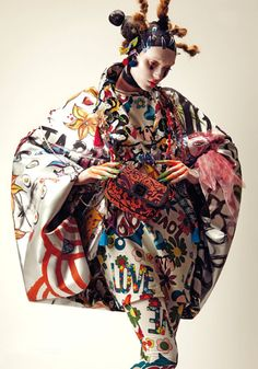 fashion story from Divo Magazine Vogue Fashion, Fashion Art, Editorial Fashion, Fashion Design, Ethnic Fashion, Colorful Fashion, Beauty Photography, Fashion Photography, Eccentric Style