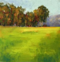 "Daily Paintworks - ""The Meadow"" - Original Fine Art for Sale - © Sherri Cassell"