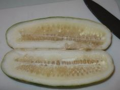 How to save cucumber seeds - easy to follow directions; you can follow a similar process when collecting tomato seeds, JD.