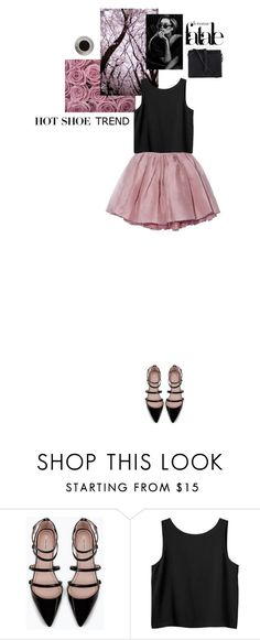 """Don't worry, be strappy"" by via-m ❤ liked on Polyvore featuring Zara, Monki, Bunn and Pieces"