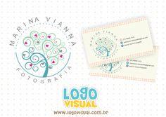 Serviço: Criação de Logo + Kit ID Cliente: Marina Vianna Cidade: Rio de Janeiro - RJ Logovisual é marcas com criatividade. #logovisual