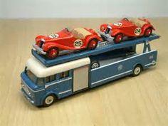 Dinky Bedford 'MG' Race Car Transporter   Roland Ward ...
