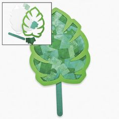 Paper Palm Leaf Craft