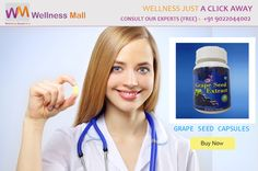 Special Offers Get 15% Discount insantly on every product Buy Grape Seed Capsules - Visit http://goo.gl/YgSbqb Kai Grape Seed Capsules is one of the most popular nutritional supplements in the world, and is launched by Kai Natural Care in technical collaboration with Hawaiian herbals, Hawaii, USA. Get FREE Advice from Doctors : 09022044002 Category: Supplements