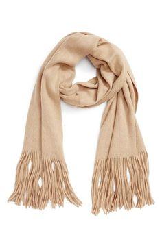 Free people Kolby brushed scarf