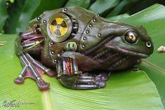 Biohazard Frog http://veysfot.co.uk