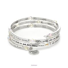 Lord's Prayer Bracelet $18  (B-006500 - What's Not to Love - pg. 15, 28)