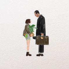 Leon the professional Leon Matilda, Movie Wallpapers, Cute Wallpapers, Pulp Fiction, Professional Wallpaper, Leon The Professional, Cinema Movies, Movie Film, Movie Poster Art