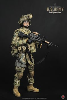Soldier Story US Army in Afghanistan Camouflage, 40k Imperial Guard, Military Action Figures, Modern Warfare, Toy Soldiers, Afghanistan, Special Forces, Us Army, Armed Forces