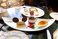 Afternoon tea of HALLOWEEN SEASON @ DISNEYLAND HOTEL Dreamers Lounge
