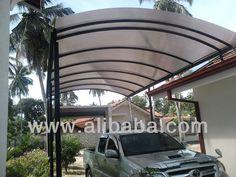 NatureCare Transparent Polycarbonate roof Canopies $97500~$525000