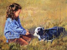 Getting To Know You - June Dudley Fine Art Paintings and Prints