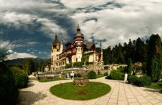 Peles Castle - Peles Castle from Sinaia - Romania www. History Of Romania, Wonderful Places, Beautiful Places, Peles Castle, Visit Romania, Visit Prague, Famous Castles, Bucharest, The Places Youll Go