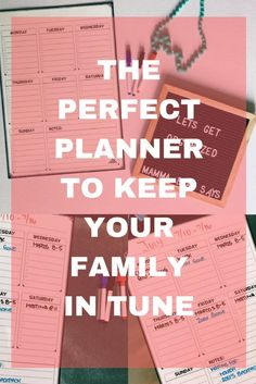 Magnetic Weekly Planner - Mamma Bear Says