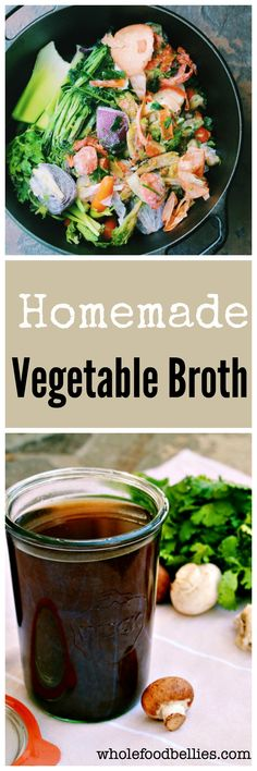 Good for your wallet, good for the planet and good for you! Homemade vegetable stock made from your veggie scraps accumulated in the freezer throughout the week Soup Recipes, Whole Food Recipes, Vegetarian Recipes, Cooking Recipes, Healthy Recipes, Cooking Hacks, Budget Recipes, Chili Recipes, Delicious Recipes
