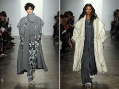 Houghton Fall 2014... Dramatic outerwear