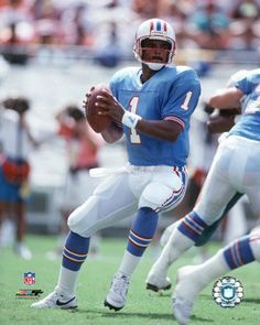 Warren Moon, the first legitimately successful black NFL quarterback. He came to the NFL after a superstar career in Canada.