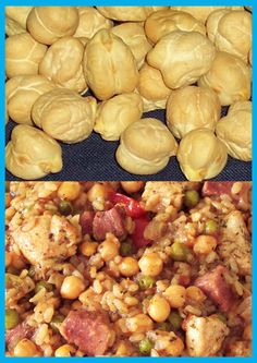Chick pea rice Rice Dishes, Potatoes, Vegetables, Nice, Food, Potato, Essen, Vegetable Recipes, Meals