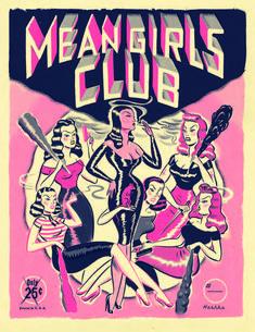 Ryan Heshka // Mean Girls Club