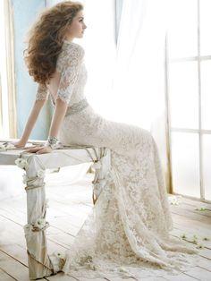 e Romantic Sweetheart Wedding Dress by fox gowndress, via 500px
