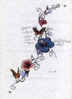 flower_butterfly_sketch_by_jokerspalace.jpg 600×828 pixels