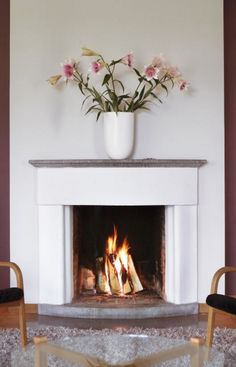 Fireplace cheeks are the splayed sides of the firebox.