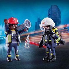 playmobil – ToyRoo - Magical World of Toys! Sport, Toys, Danger, Unique, Women, Action, Products, Hard Hats, Fire Department