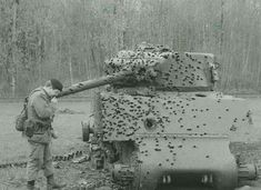 Destroyed a M4 Tank.